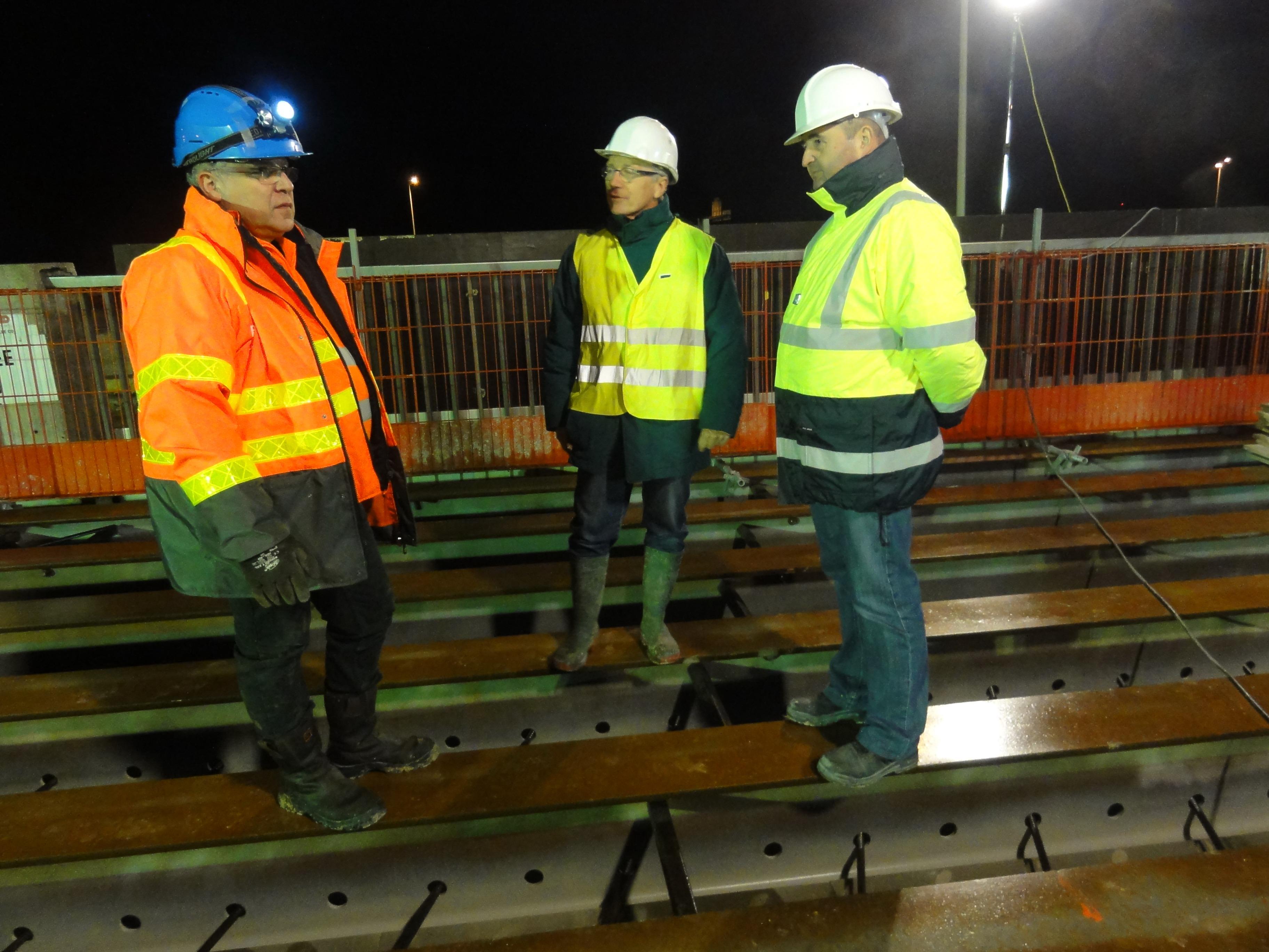 Visite de chantier lyc e f arago for Visite de chantier