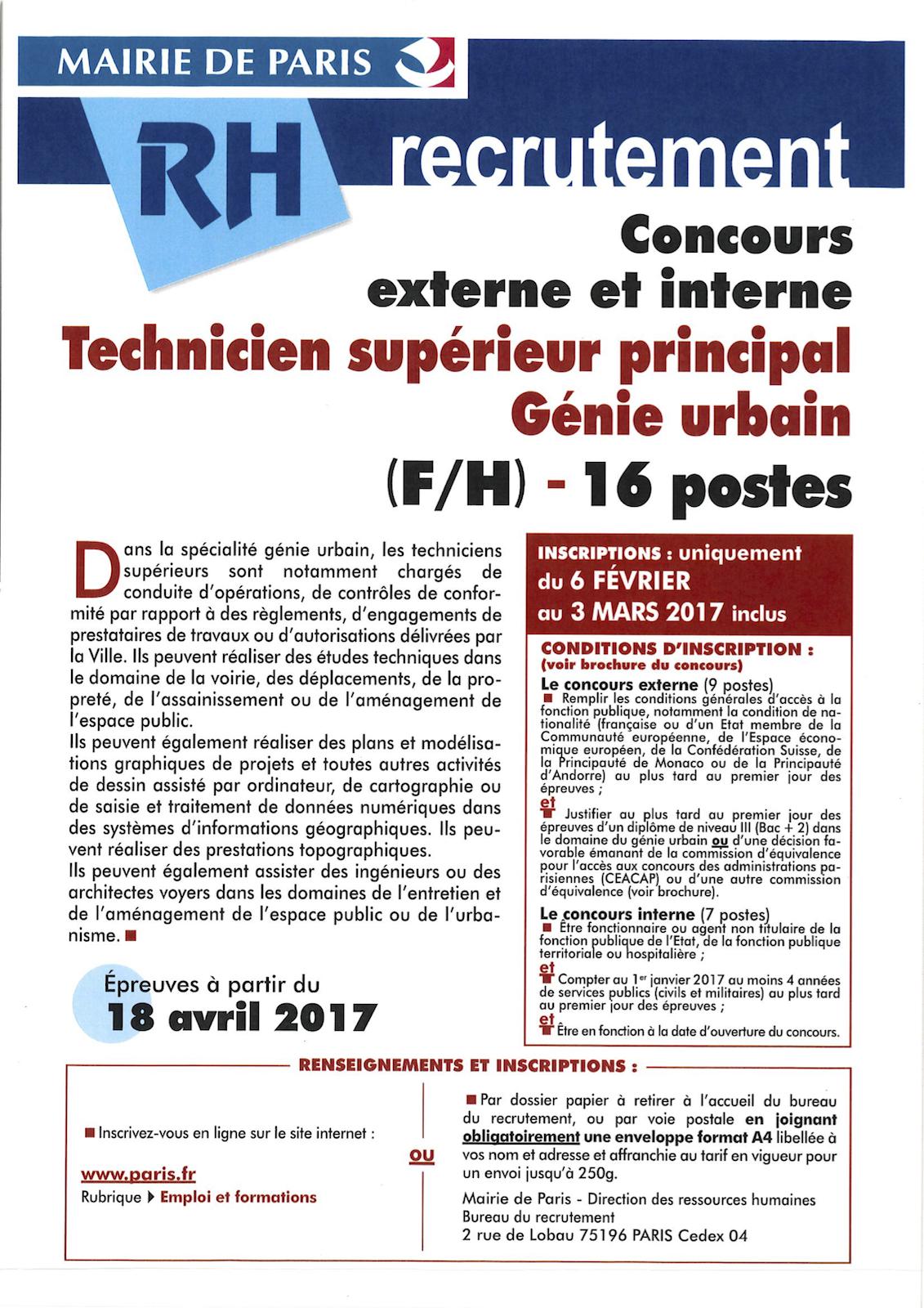 Recrutement agent d 39 entretien mairie de paris for Entretien espaces verts paris